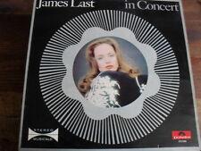 "JAMES LAST  "" IN CONCERT "" LP VINILE"