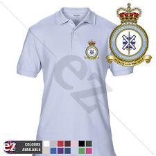 RAF Station Leuchars - RAF Polo Shirt - Optional Veteran Badge