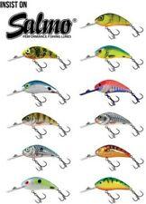 Salmo RATTLIN'FRELON flottant poissons nageurs 4.5cm / PERCHE LEURRE BROCHET