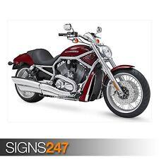 Harley-Davidson VRSCAW V-Rod (AC424) Vélo Poster-Poster print ART A0 A1 A2 A3