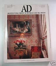 AD - ARCHITECTURAL DIGEST N. 125 - GIORGIO MONDADORI