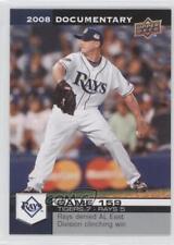 2008 Upper Deck Documentary #4790 Scott Kazmir Tampa Bay Rays Baseball Card