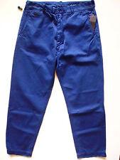 Diesel Herren Hose, Diesel Co Platton Pantaloni Flat Front Herren Hosen Blau