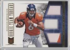 2012 Momentum Rookie Team Threads Materials Triple Prime #15 Brock Osweiler Card