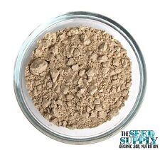 Micronized AZOMITE Powder - Certified Organic Trace Minerals - Soil Amendment