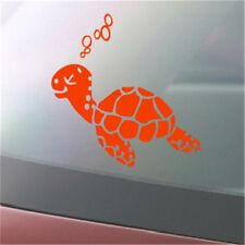 Sea Turtle Vinyl Decal Tropical Sea Ocean Life Surf Island Car Window Sticker G