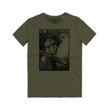 Maglietta Die Wehrmacht Soldaten Infanterie Division Stahlhelm WK2 Heer T-shirt