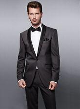 Slim Line Smoking Sakko & Hose im Mix Gr. 46 - 98 Wilvorst Anzug black tie
