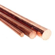 Cuivre Rond Barre/Tige Tour solide de coupe en métal Dia 5-60 MM L: 5 * 30CM T2