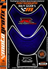 Suzuki GSXR 1000 2009 - 2015 Motorcycle Tank Pad Motografix 3D Gel Protector