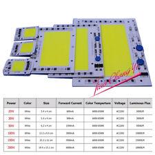 COB LED Lamp Chip AC 220V Input High Power 20W 50W 100W 200W Smart IC No Driver