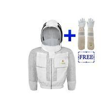 Safta Bee 3 Layers Ventilated Beekeeping Jacket With Fencing Veil