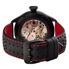PILOT LEDERBAND LORICA® HighTec wasserfest Sport Uhrenband geschwärzt 20 22 24