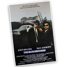 The Blues Brothers John Belushi Dan Aykroyd Reproduction Movie Poster