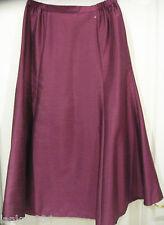 Eastex Dark Pink Shiny Party Long Midi Skirt (NEW) UK  Sizes 10 or 20- £70.00