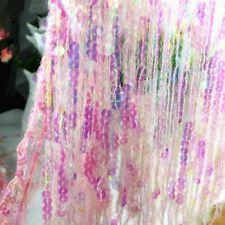 Sparkle Sequin Tassel Trim Fringe Fringing Drop 11/15'' Latin Costume Furniture