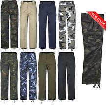 US RANGER Pantaloni da campo BDU ESERCITO Militare Cargo lavoro Casual 9 Colori