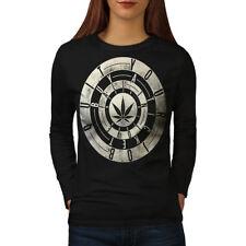 Inspirational Weed Rasta Women Long Sleeve T-shirt NEW | Wellcoda
