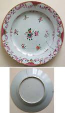 Assiette Compagnie des Indes Chine China 18e siècle 18th century