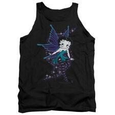 Betty Boop Cartoon Sparkle Fairy Adult Tank Top Shirt