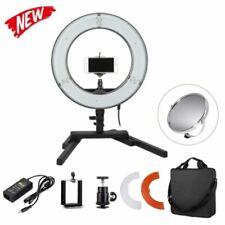 14'' 5500K 40W Foldable LED Ring Light Desktop Stand Bracket For Makeup Selfie