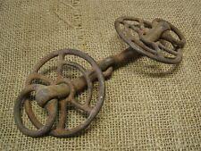 Vintage Iron Horse Harness Bit Antique Rare Design Wagon Western Military 6494
