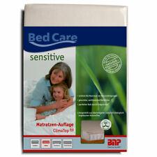 BNP Bed Care Matratzenauflage Clima Top Matratzenschoner kbA Baumwolle Auflage