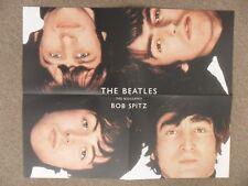 "THE BEATLES Promo Poster,Fab Four Rare Pic,Bob Spitz Biography Ltd Ed 19"" x 23"""