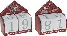 Minuteur pour Noël Perpétuel Calendrier De L'avent En bois Bureau