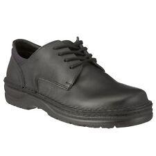 Naot Denali Matt Black Mens Leather Lace-up Sport Flats Elegant Oxford Shoes