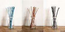12g en bois branche reed diffuseur noir turquoise orange recharge bâtons 24cm twig
