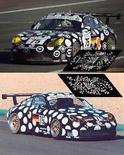 Calcas Porsche 996 GT3 Le Mans 2000 1:32 1:43 1:24 1:18 64 87 911 test decals