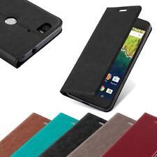 Handy Hülle für Huawei NEXUS 6P Cover Case Tasche Etui mit Kartenfach
