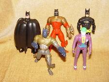 * Seleccione su propio Batman Figuras De Acción * Kenner Mattel comienza devoluciones película Dc