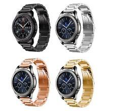 Für SAMSUNG Gear S3 Classic Frontier Edelstahl Milanese Band Uhr Armband Adapter