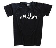 Standard Edition padre II Papà Padre papà bambino EVOLUTION T-Shirt S-XXXL Nuovo