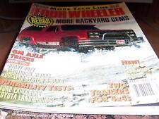 Four Wheeler Magazine April 1992 GM Axle Tricks
