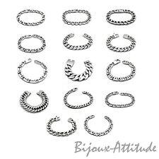 Bracelet gourmette acier 316L pour femme homme ado, bijou neuf, modèle au choix