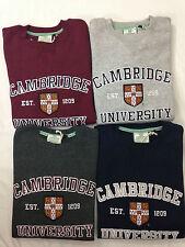Officially Licenced  Cambridge University Applique Sweatshirts Unisex