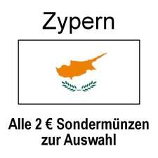 Zypern - alle 2 Euro Sondermünzen Gedenkmünzen - alle Jahre - bankfrisch unc.
