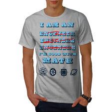 Wellcoda Engineer Good Math Mens T-shirt, Nerds Graphic Design Printed Tee