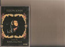 ELTON JOHN LIVE IN BARCELONA DVD MUSIC 1992