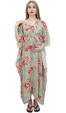 Robe D'Allaitement Bimba Moms Cordon Floral Imprimé Maternité Caftan