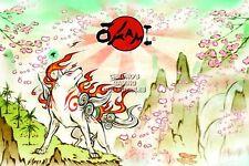 RGC Huge Poster - Okami Amaterasu Art PS2 PS3 Nintendo DS - OKI002
