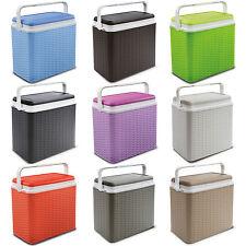 Grand en rotin 24 litres design cooler box 2 ice packs déjeuner picnic plage cool