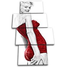 Marilyn Monroe Iconic Celebrities MULTI LONA pared arte Foto impresion