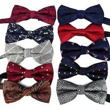 Dickie Bow ,wedding, prom, suit, tie, fancy colours , luxury quality Silk