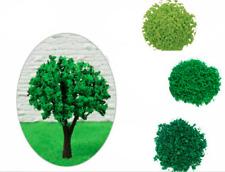 Model Artificial Tree Powder Miniature Toy Sandbox Building Landscape Craft Leaf