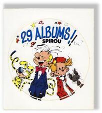 Franquin Autocollant Albums Spirou