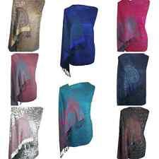 Designer Floral Paisley Shawl Scarf Wrap Pashmina Warm Soft SilkyTouch Gift